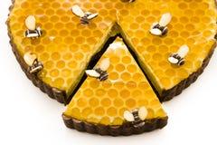 Tarte de miel Image libre de droits