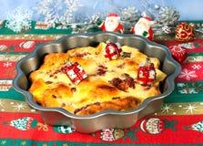 Tarte de Noël Photos stock