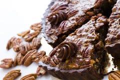 Tarte de noix de pécan Image libre de droits