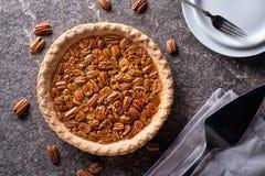 Tarte de noix de pécan et de kumquat image stock