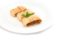 Tarte de pâte feuilletée Image stock