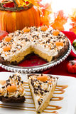 Tarte de potiron Photos stock