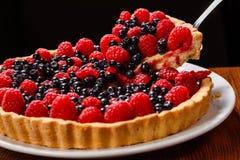 Tarte de tarte de fruit Image libre de droits