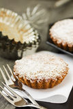 Tarte douce avec du sucre Photo libre de droits
