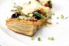 Tarte fine aux food Stock Photo