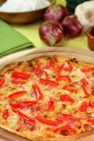 Tarte flambee Stock Images