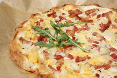 Tarte Flambée Royalty Free Stock Images