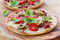 Tarte flambee Royalty Free Stock Photography