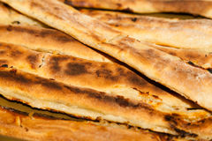 Tarte fraîchement cuit de fromage Photographie stock