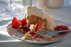 Tarte sablée de fraise Photo stock