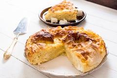 Tarte serbe de fromage photo libre de droits