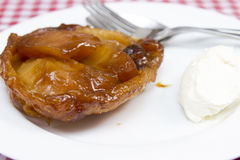 Tarte tartin Stock Photography