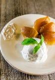 Tarte tatin french dessert Stock Image