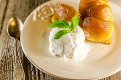Tarte tatin french dessert Stock Photography