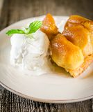 Tarte tatin french dessert Royalty Free Stock Images