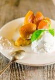 Tarte tatin french dessert Royalty Free Stock Image