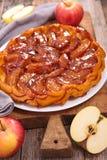 Tarte tatin, french pastry Royalty Free Stock Photo