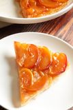 Tarte Tatin , Upside-down Apple Tart Royalty Free Stock Photo