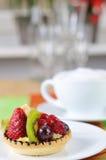 Tarte und Kaffee 3 Lizenzfreies Stockbild