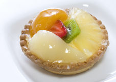 Tartelette fruits Royalty Free Stock Photos