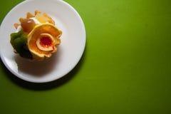 Tartelettes crémeuses Images libres de droits