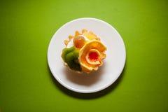 Tartelettes crémeuses Photos libres de droits