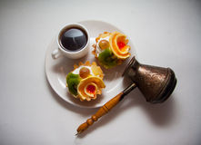 Tartelettes crémeuses Images stock