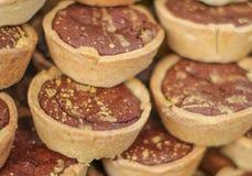 Tartelettes de chocolate Fotos de archivo libres de regalías