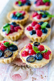Tartelettes Royalty Free Stock Images