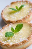 Tartes au citron Stock Images