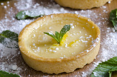 Tartes Au Citron Stock Photography