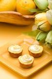 Tartes de citron Photos stock