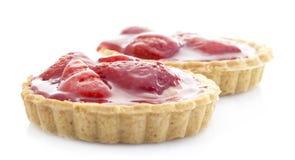 Tartes de fraise Images libres de droits