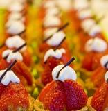 Tartes de fraise Images stock