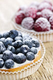Tartes de fruit Images libres de droits