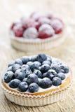 Tartes de fruit Images libres de droits