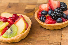Tartes de fruit Photos libres de droits