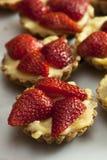 Tartes de fruit de fraise photos libres de droits