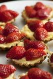 Tartes de fruit de fraise photo libre de droits