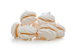 Tartes de meringue Images libres de droits