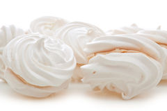 Tartes de meringue Photographie stock libre de droits