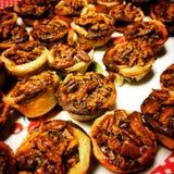 Tartes de noix de pécan Photo stock