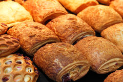 Tartes de pâte feuilletée Photo stock