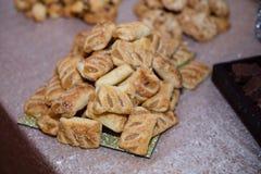 Tartes doux de pâtisserie Images libres de droits