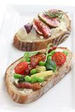 Tartine Stock Photo