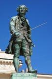 Tartini的,皮兰纪念碑 库存照片