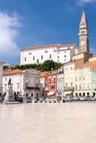 Tartini Square in Piran Royalty Free Stock Image