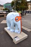 Tartiphant sculpture of elephant designed by Toni De Grisantis Stock Photography