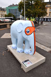 Tartiphant-Skulptur des Elefanten entworfen von Toni De Grisantis Stockfotografie