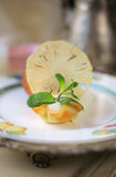 Tartlet с мороженым Стоковая Фотография RF
